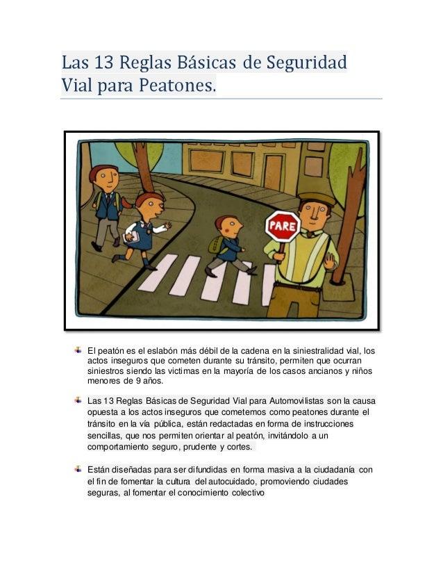 Normas de seguridad vial Slide 3
