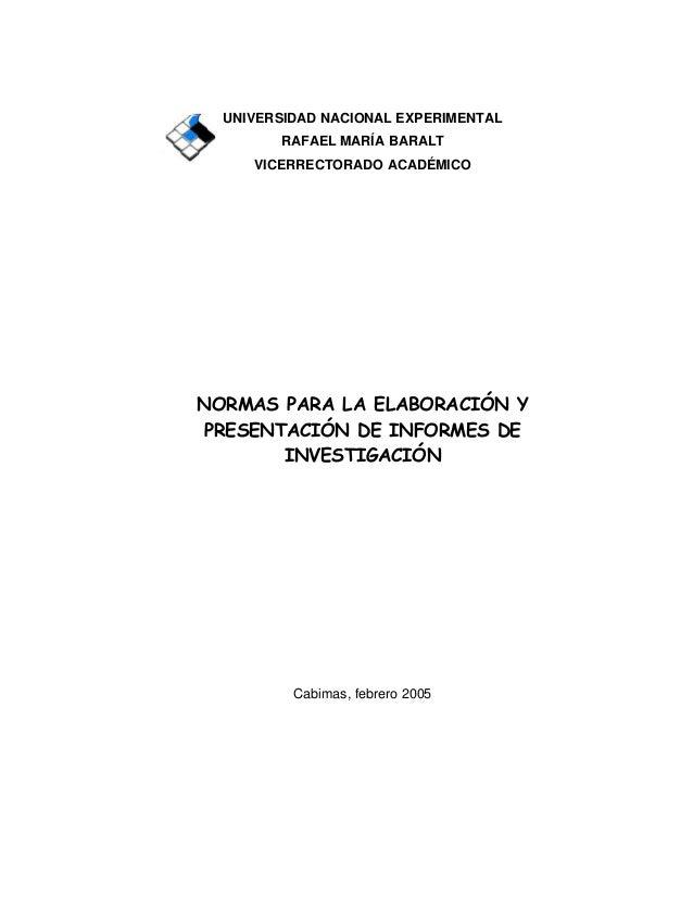 normas de trabajos febrero 2005  1