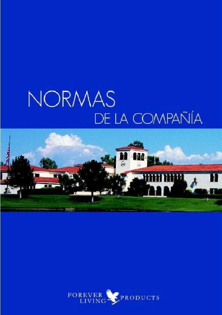 Normas Forever España