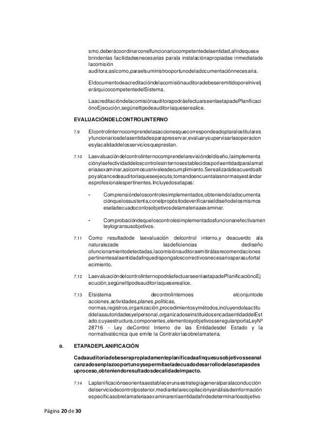 Página 20 de 30 smo,deberácoordinarconelfuncionariocompetentedelaentidad,afindequese brindenlas facilidadesnecesarias para...