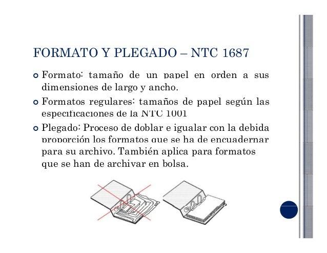 normalizacion para formatos y doblado de papel en dibujo tecnico