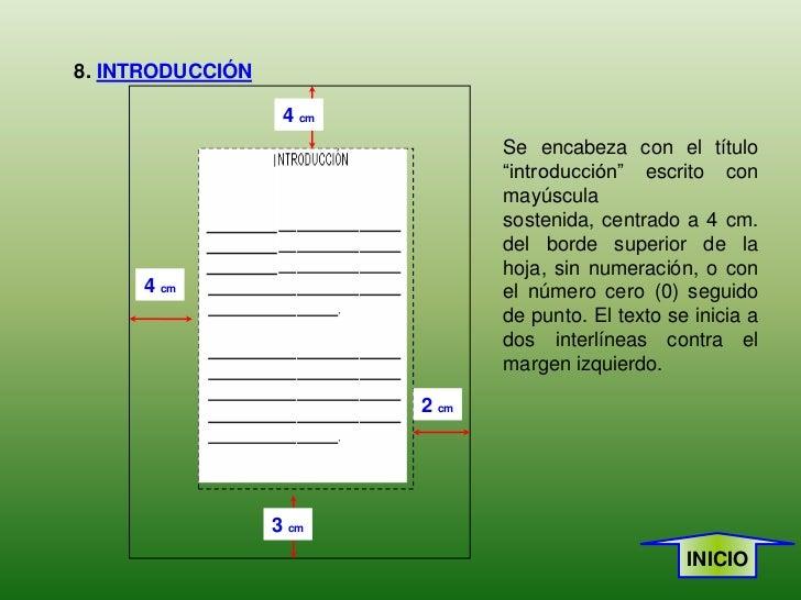 Normas icontec presentación trabajos escritos - photo#41
