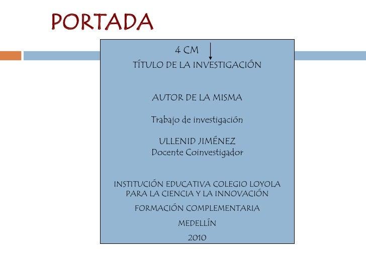Normas Icontec Y Normas Apa