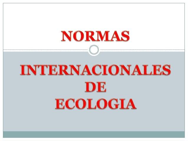 NORMAINTERNACIONAL   ISO 14004