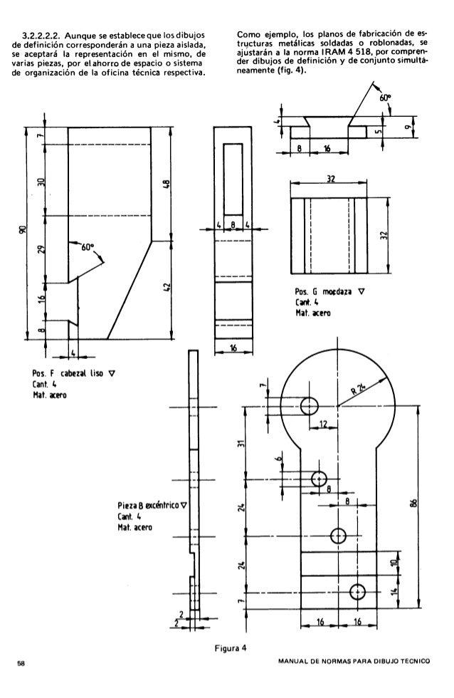 Worksheet. Normas iram dibujo tecnico