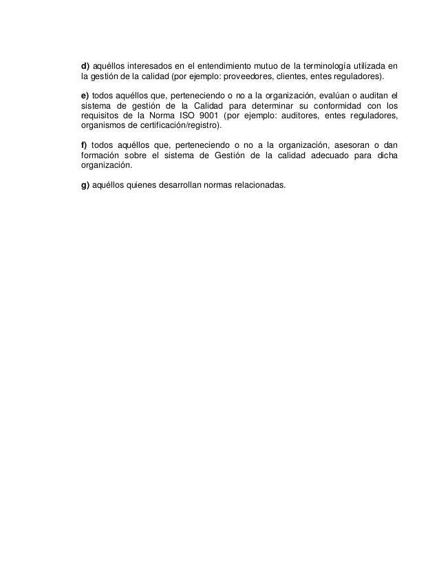 ENSAYOLas normas ISO 9000 e un conjunto de normas para sobre calidad y gestióncontinua de calidad, que para mi profesión s...