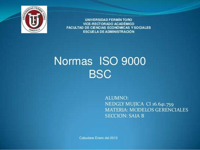 UNIVERSIDAD FERMÍN TORO          VICE-RECTORADO ACADÉMICO  FACULTAD DE CIENCIAS ECONÓMICAS Y SOCIALES          ESCUELA DE ...