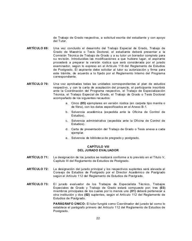 Normas para presentar trabajos de grado y tesis doctorales - Permisos para construir una casa ...