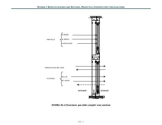 Normas tecnicas volumen 3 tomo i diseno arquitectonico for Manijas para regadera