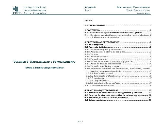 normas tecnicas volumen 3 tomo i diseno arquitectonico