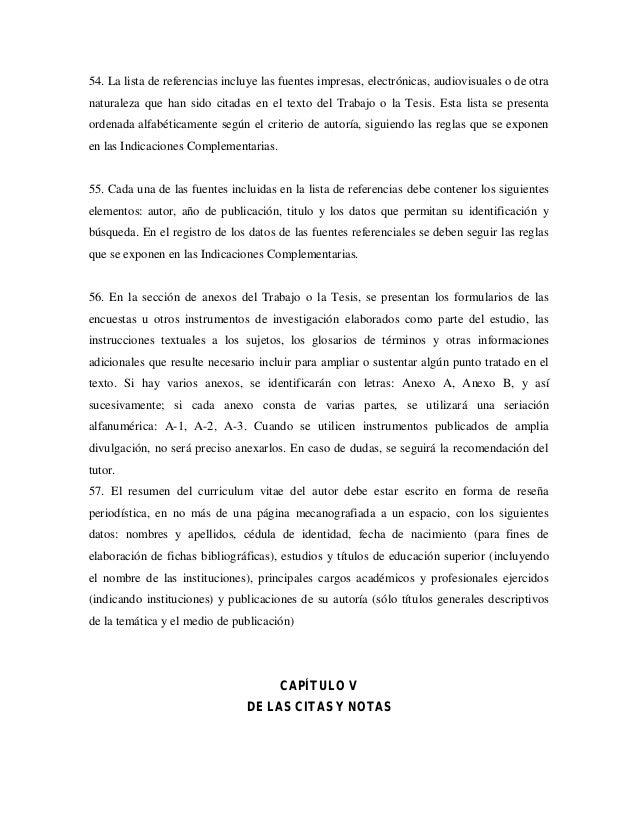 Normas UPEL Mayo 2006