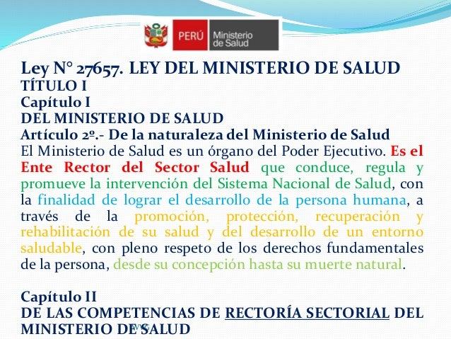 Normativa sobre seguridad y calidad en salud for Noticias del ministerio de seguridad