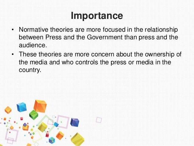 normative theory examples