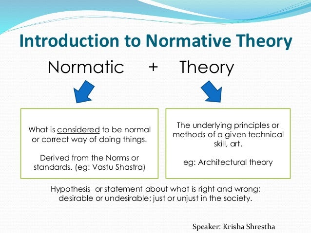 "descriptive vs normative statements One reason for this is that ""morality"" seems to be used in two distinct broad  senses: a descriptive sense and a normative sense."