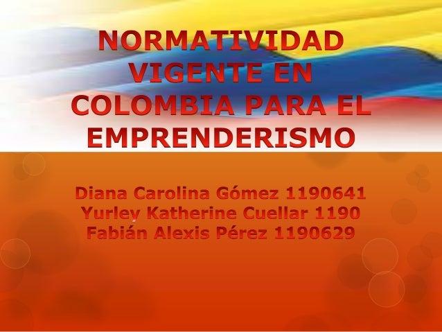 LEY 1014 DEL 2006                FORMACION PARA                      EL                EMPRENDIMIENTOEMPRESARIALI-    DAD ...