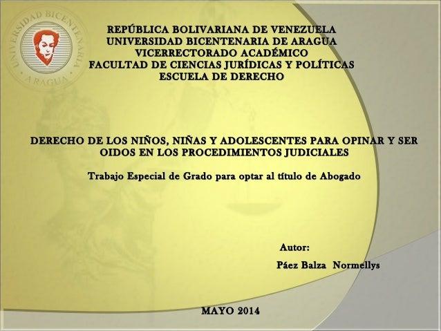REPÚBLICA BOLIVARIANA DE VENEZUELAREPÚBLICA BOLIVARIANA DE VENEZUELA UNIVERSIDAD BICENTENARIA DE ARAGUAUNIVERSIDAD BICENTE...