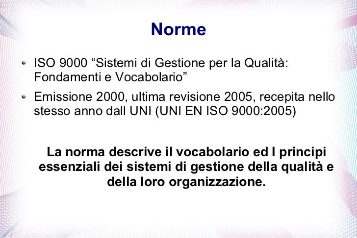 norme uni gratis iso