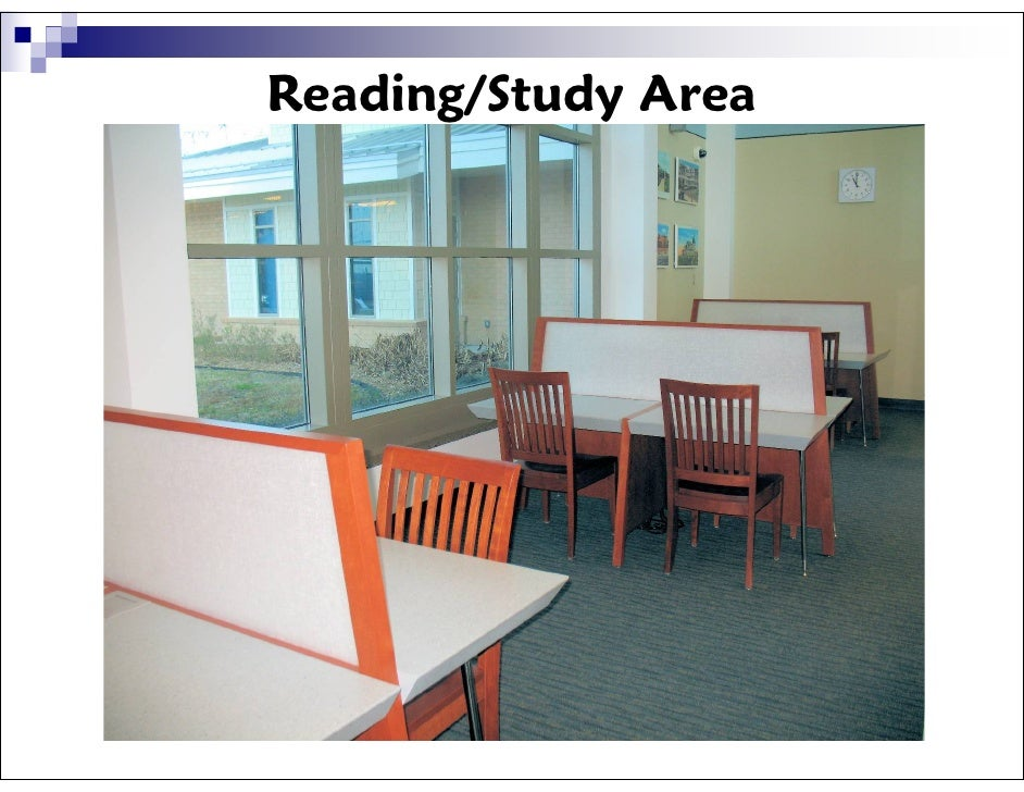 Miller Branch Library Group Study Room