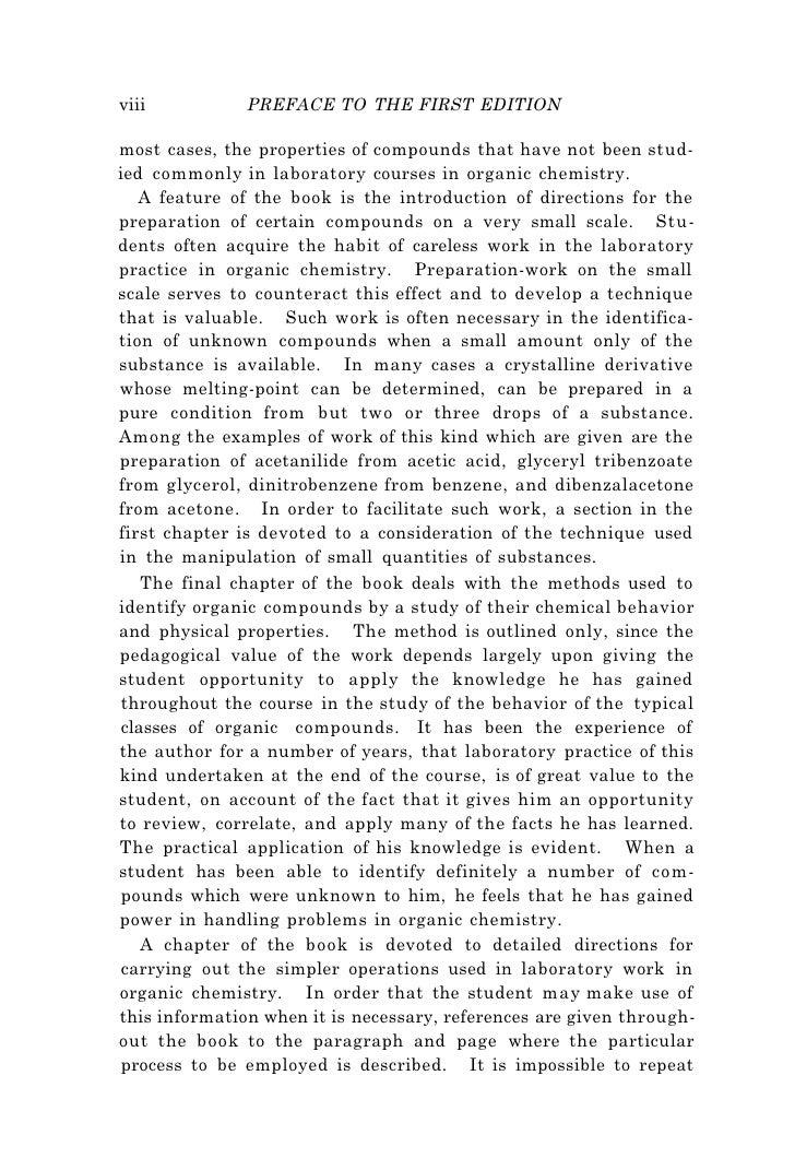 norris experimental organic chemistry  5 viii