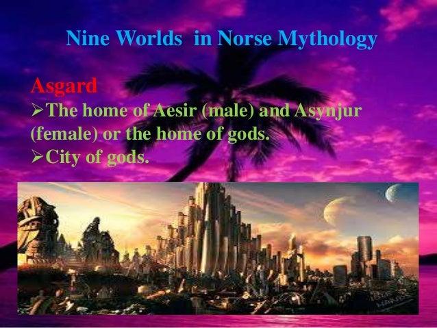 Norse or Germanic mythology