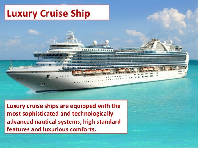 Types Of Cruise Ships - Kinds of cruise ship