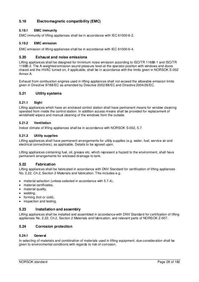 NORSOK P 002 PDF DOWNLOAD