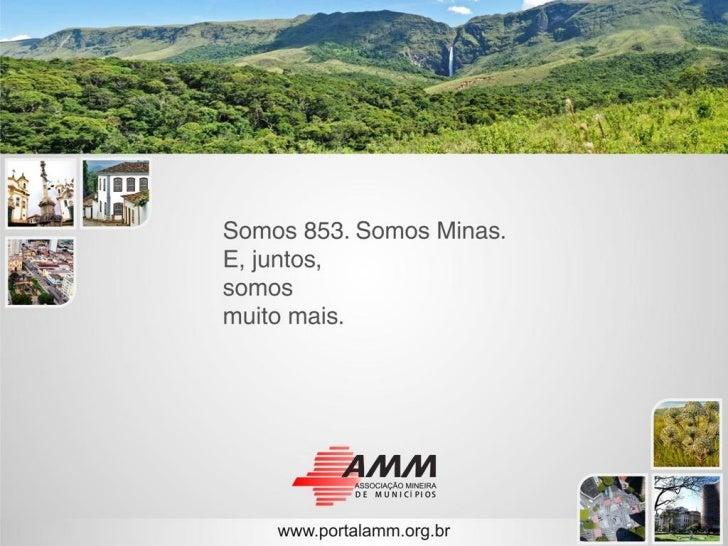 DEPARTAMENTO DE DESENVOLVIMENTO          ECONÔMICO                AMM em AÇÃONorte de Minas: Perspectivas Econômicas e Soc...