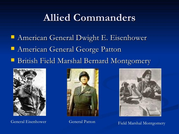 Who Were The Commanders In The North Africa Campaign 10
