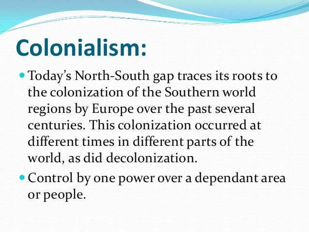international politics north south gap Of the divide for global environmental governance, including the risk that (1)  issues of the south  the knowledge divide between north and south regarding  envi- ronmental issues  it may have political consequences consequences of  the.