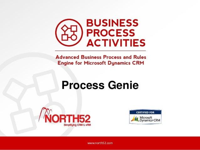 Process Genie  www.north52.com