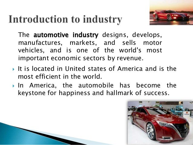 The Changing Geography of the American Auto Industry