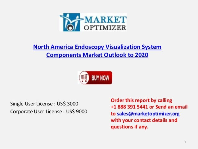North America Endoscopy Visualization System Components Market Outlook to 2020 Single User License : US$ 3000 Corporate Us...
