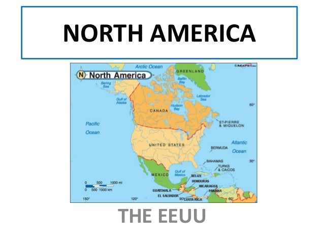 NORTH AMERICA THE EEUU