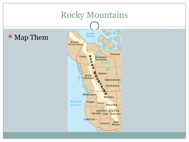 North America Landforms