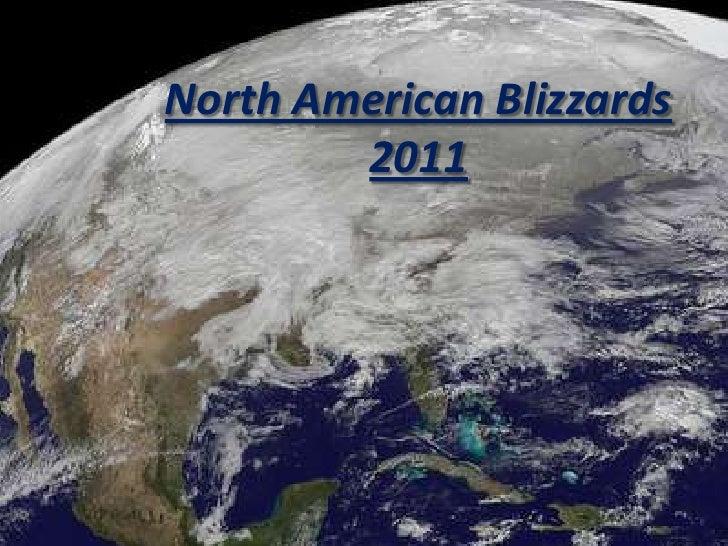 North American Blizzards 2011<br />