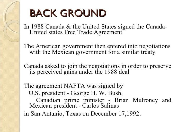 North american free trade agreement platinumwayz