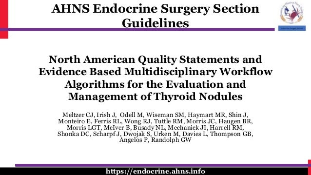 North American Quality Statements And Evidence Based Multidisciplinar