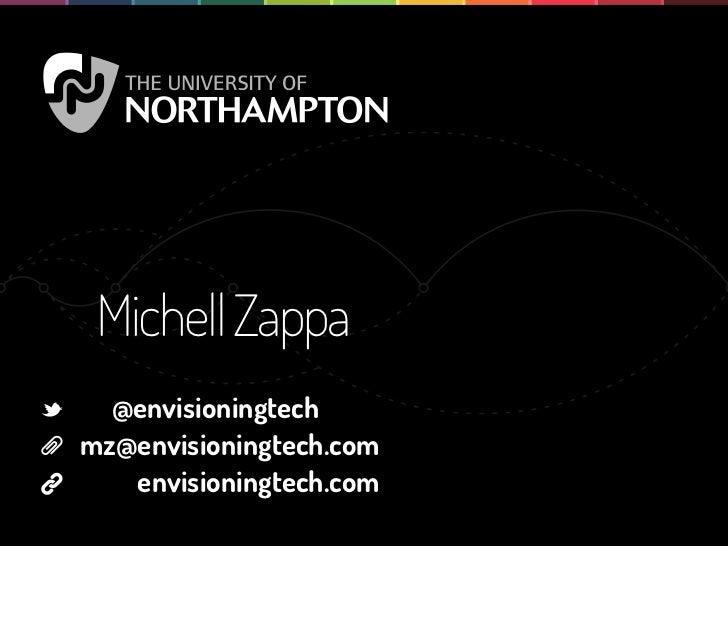 Michell Zappa  @envisioningtechmz@envisioningtech.com   envisioningtech.com