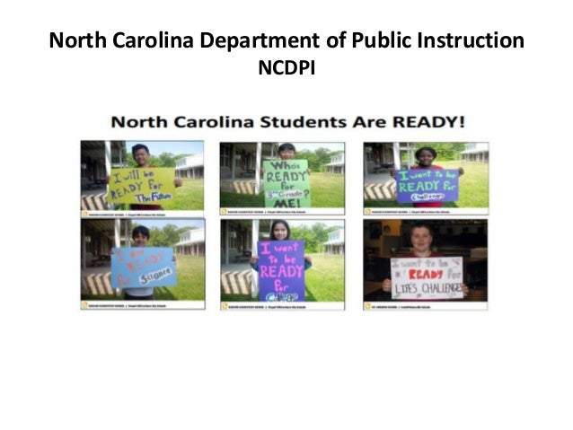 North Carolina Department Of Public Instruction Power Point