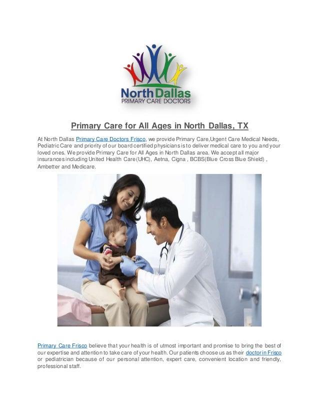 North dallas primary care doctors