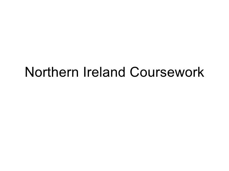Northern Ireland Coursework