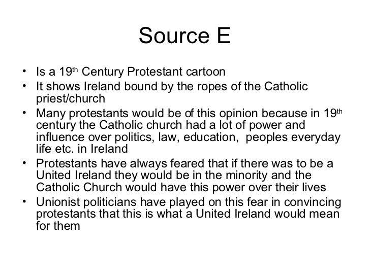Ireland history coursework