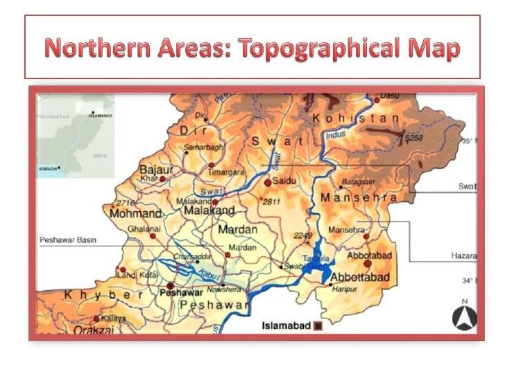 pakistan northern areas map pdf