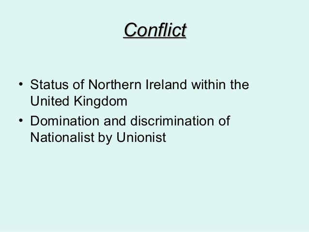 catholic discrimination in north ireland social Launched on november 5, 1984, the mac bride principles has been the most  successful campaign ever against anti-catholic discrimination in northern ireland.