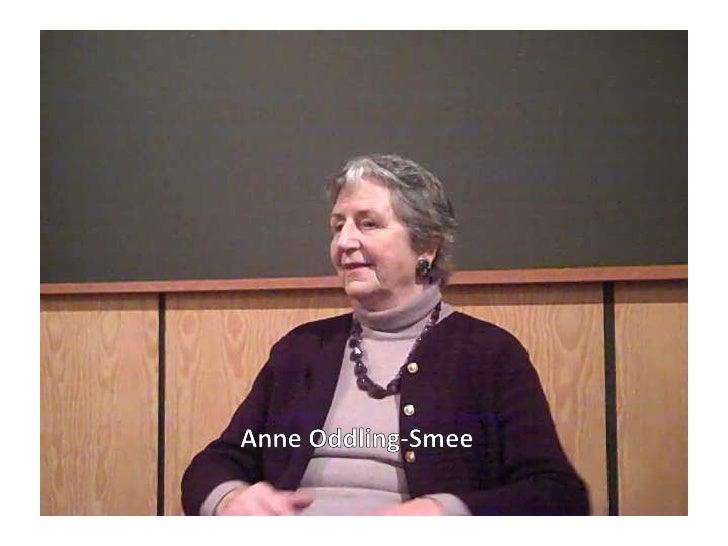 Anne Oddling-Smee<br />