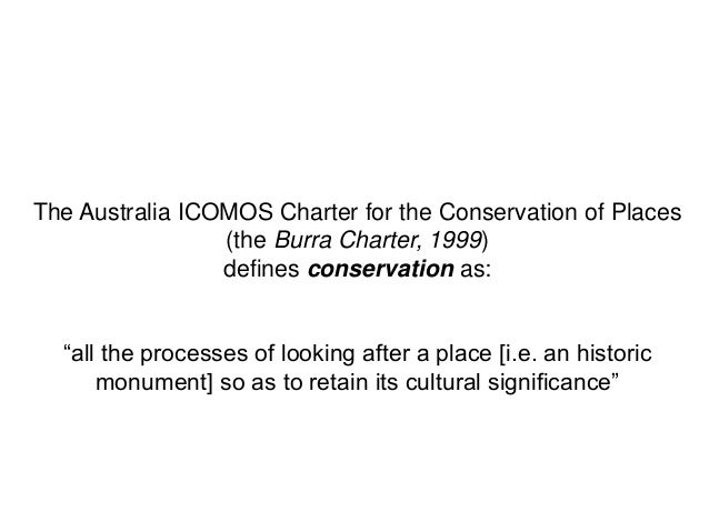 australia icomos burra charter pdf