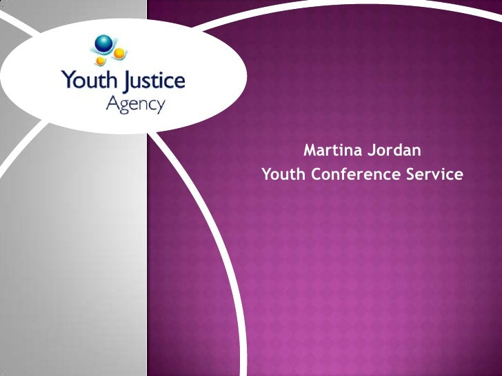 Martina Jordan<br />Youth Conference Service<br />
