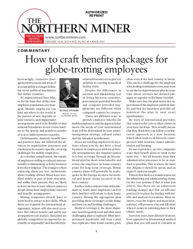 AUTHORIZED                                                               REPRINT                         www.northernminer...
