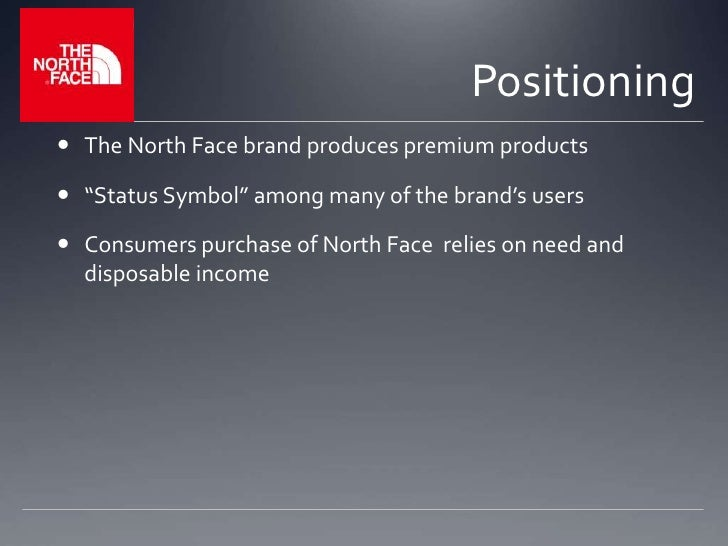 North Face Presentation For A Class On Marketing Management