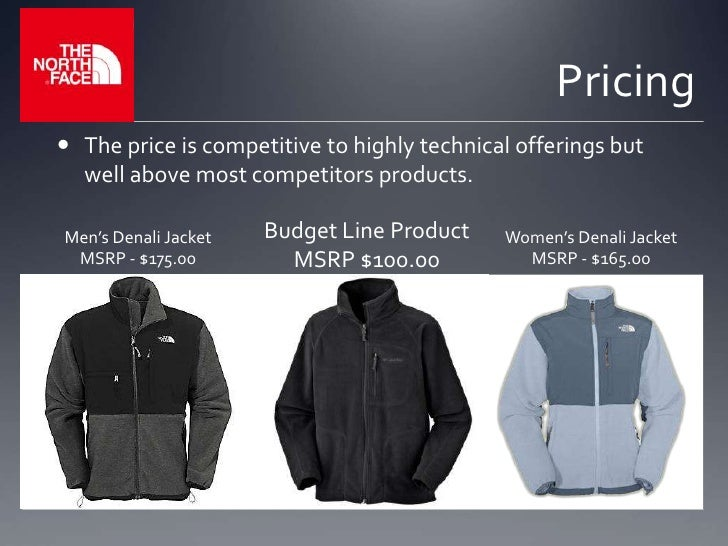 ed793068c North Face Presentation for a class on Marketing Management
